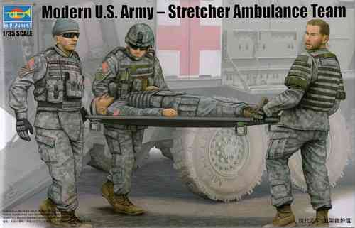 Moderne U.S. Army Ambulance-Team