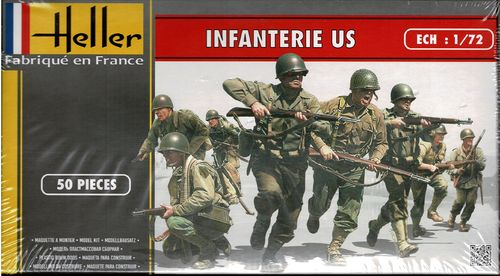 US Infanterie Figuren-Set