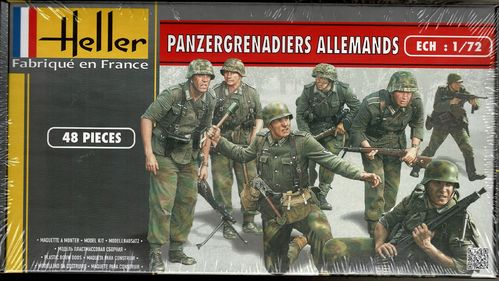 Deutsche Panzergrenadiere Figuren-Set